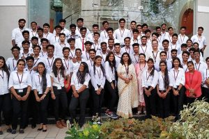 Industrial Visit of CSE and ECM Students to Infosys
