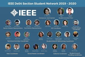 CSE  Student selected in IEEE Delhi Section Student Network Team