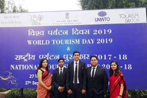 Hotel Management Students celebrated World Tourism Day at Vigyan Bhavan