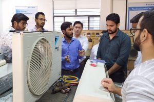 Half Day Workshop on Installation and Testing of a Split Air Conditioner