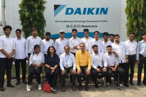 Industrial Visit to Daikin Air Conditioning India Pvt. Ltd. Neemrana