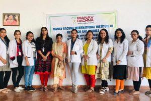 Community health camp at Shidh Laxmi Naryan Dham, Anangpur Village