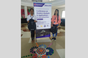 Students presented papers in 67th Annual Conference of Bharat Ganita Parishad