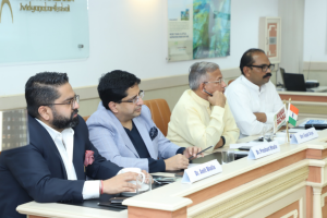 Ideation on environment conservation at the meeting of Haryana Environment Protection Foundation (HEPF)