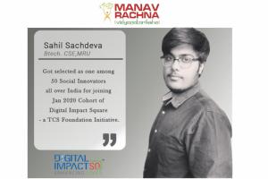 Among 50 Social Innovators across India