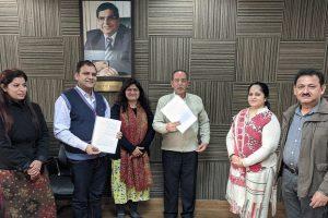 MOU with Manav Rachna University, TRUE CHIP
