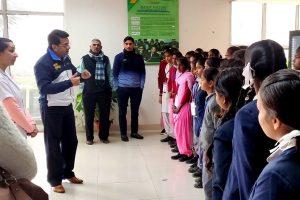 Palwal Students Visit MRDC