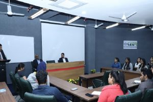 Guest Lecture by Mr Abhinav Bhushan