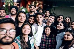 Media Students visited NDTV Office