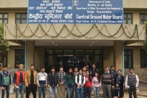 One day visit to Central Ground water Board (CGWB), Faridabad