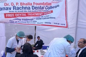 Dental Check-up and Treatment Camp at Supreme Court of India