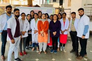 Community Health Camp at Laxmi Narayan Mandir