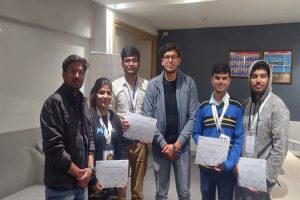 Team PSYCRYPTERS wins third position at 'HackPhoria, 24 hrs Hackathon'