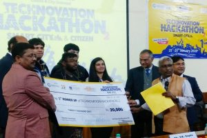 Team Apostles – Second Prize | 24hrs HACKATHON TECHNOVATION @Sharda University