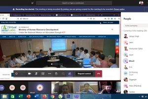 Virtual lab Online Training Program for faculty members