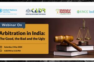 Webinar on Arbitration in India