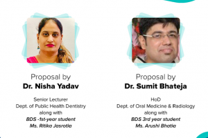 Manav Rachna Dental College ,FDS , MRIIRS bags 2 ICMR Research proposals this year !!!
