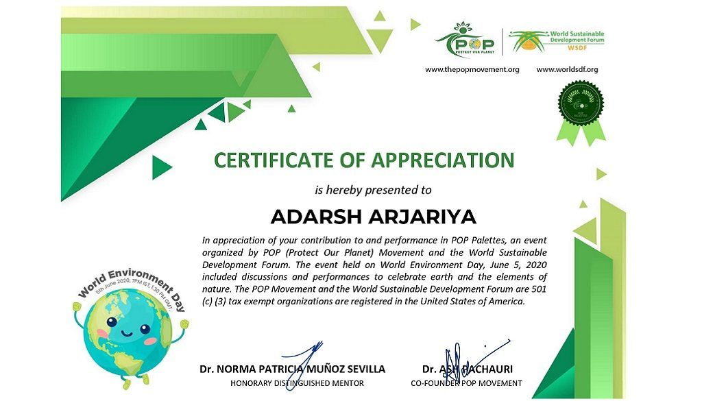 Certificate Contribution_Adarsh