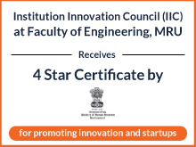 4 Star Certificate by MHRD
