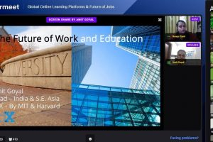 """Live talk show on """"Global Online Learning Platforms & Future of Jobs"""""""