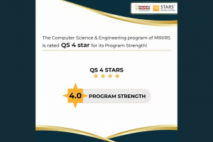 QS 4-Star rating for the Program Strength