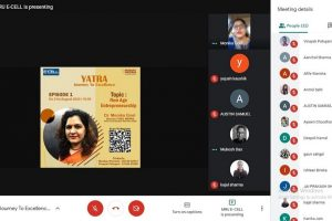 MRU Entrepreneurship Cell Introduces Yatra: Journey to Excellence – A Talk Series