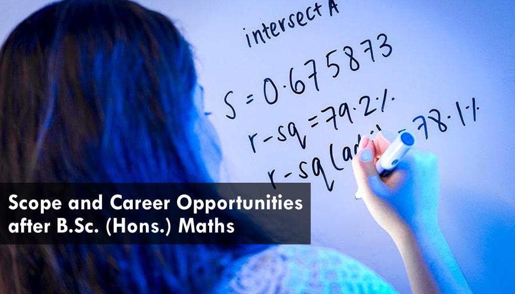 math hons scope