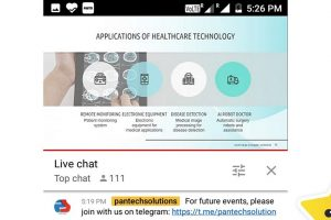 Webinar on Healthcare Technology