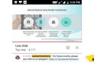 Webinar on Healthcare Technology