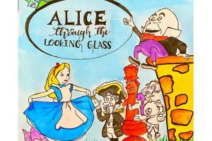 Poster Competition on 'Through the Looking Glass' by Lewis Carroll