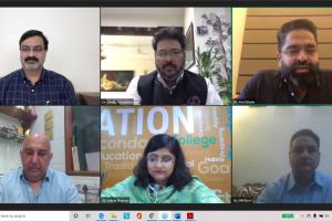 International Conference by FAHS- Dr Deepak Kumar, Dr Sanjay Srivastava, Dr Amit Bhalla, Dr Ali Irani, Dr Ankita Sharma, Dr Mir Rizwi