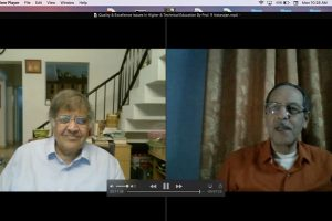 Webinar on Quality & Excellence Issues in Higher & Technical Education