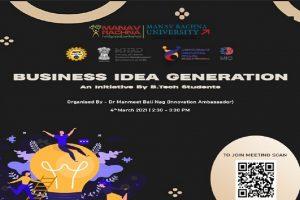 Business Idea Generation-Event Brochure