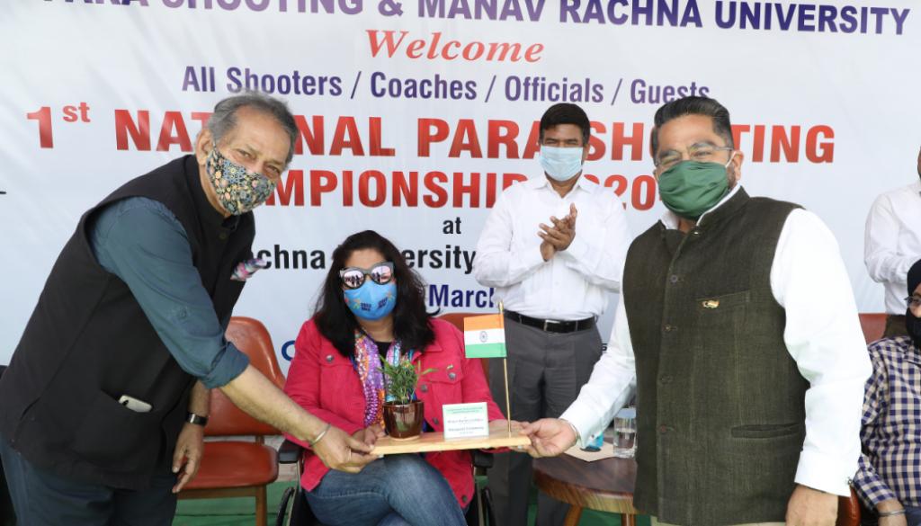 National Paralympic Shooting Championship at Manav Rachna