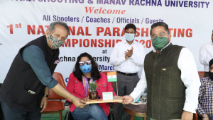National Paralympic Shooting Championship at Manav Rachna