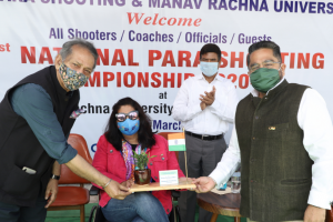 India's first National Paralympic Shooting Championship being organized at Manav Rachna