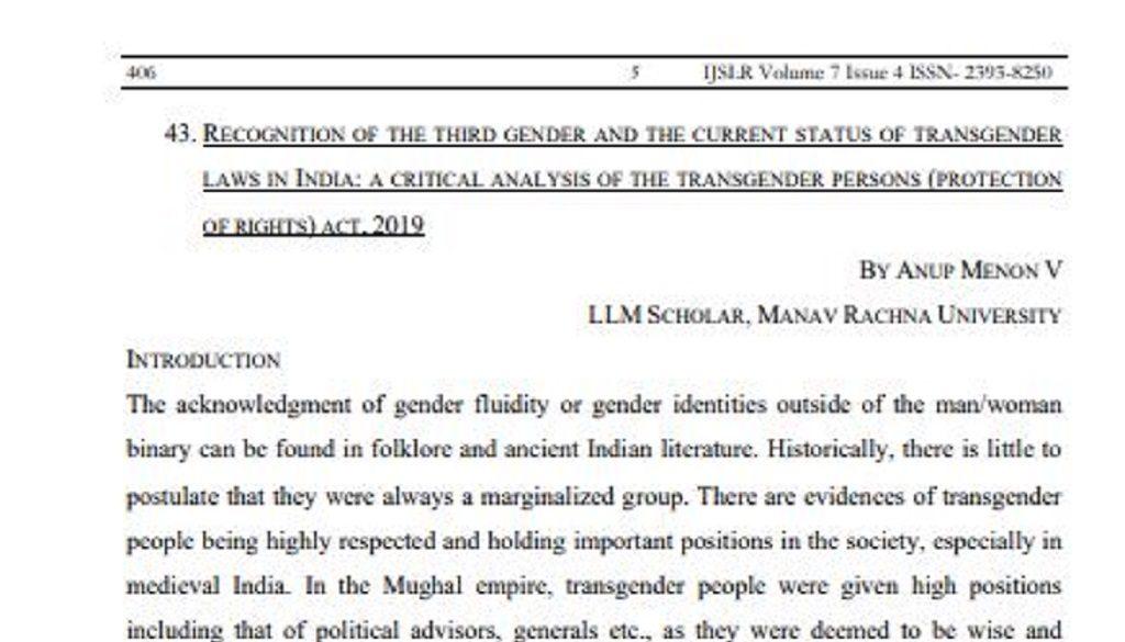 Published Article Screenshot