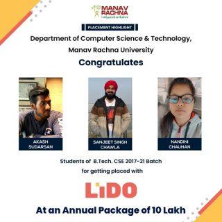 Students of B.Tech Lido Learning