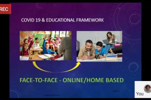"""Day 6 Highlights of 7- Day International FDP on """"Research in Virtual World"""": Dept of English, MRIIRS"""