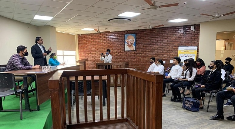 <center>Skilling Opportunities at Moot court committee
