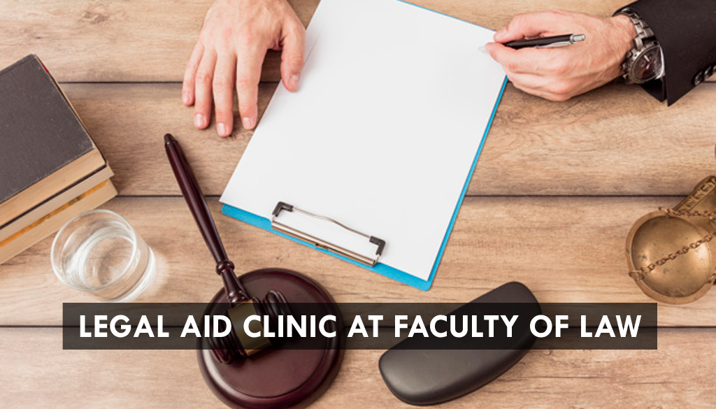 <center>Legal Aid Clinic at Faculty of law