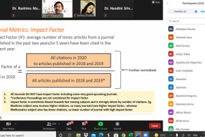 National Elsevier Author Workshop-2021 on 'Publishing Research Articles in Top Journals'