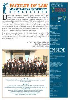 <center>Newsletter December-May 2018