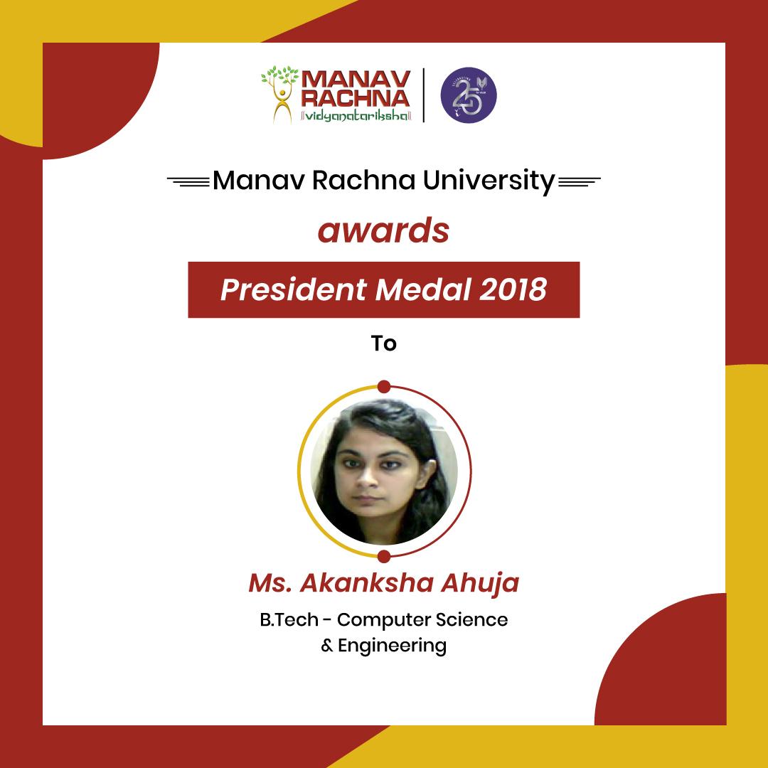 Awards-President-Medal-2018-Akanksha-Ahuja