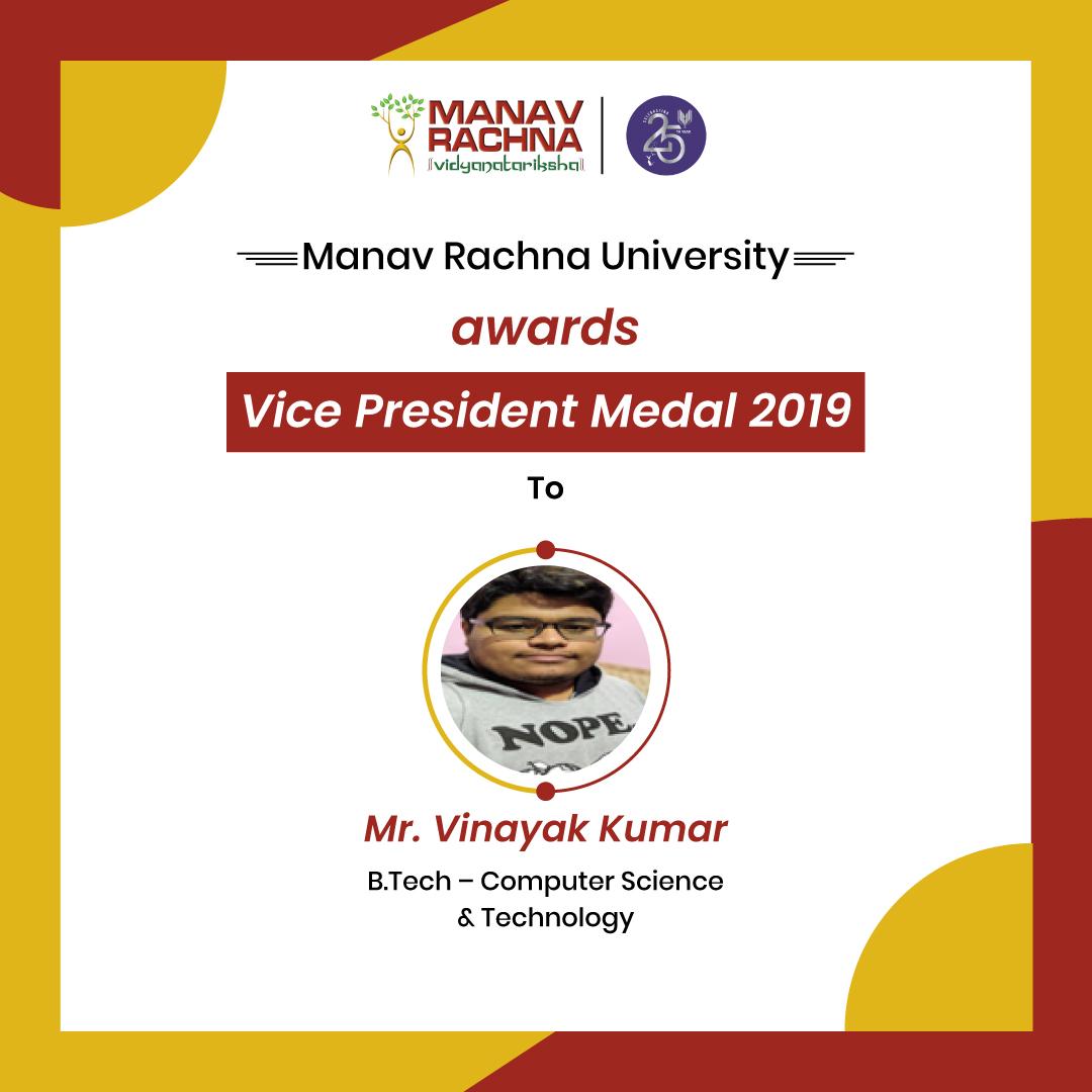 Awards-President-Medal-2019-Mr.-Vinayak-Kumar