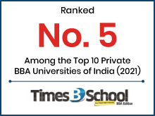 Top 10 Private BBA Universities of India