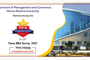 Top 10 Emerging BBA Institutes as per Times BBA Education Ranking Survey 2021